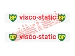 """VISCO-STATIC"" Decals für DOUBLE DECKER BUS No. 5C"